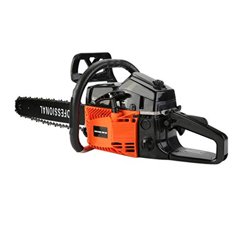 Graspwind Gas Chainsaw 45cc 18 Cordless 2 Cycle Engine Electric Chain Saws With Double
